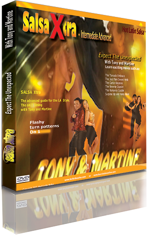 Advanced Danced Level Salsa DVD