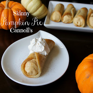 Skinny Pumpkin Pie Cannolis Recipe