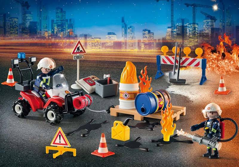 """Contenido real de Playmobil® 9486 Calendario de Adviento """"Operación de Rescate"""""""