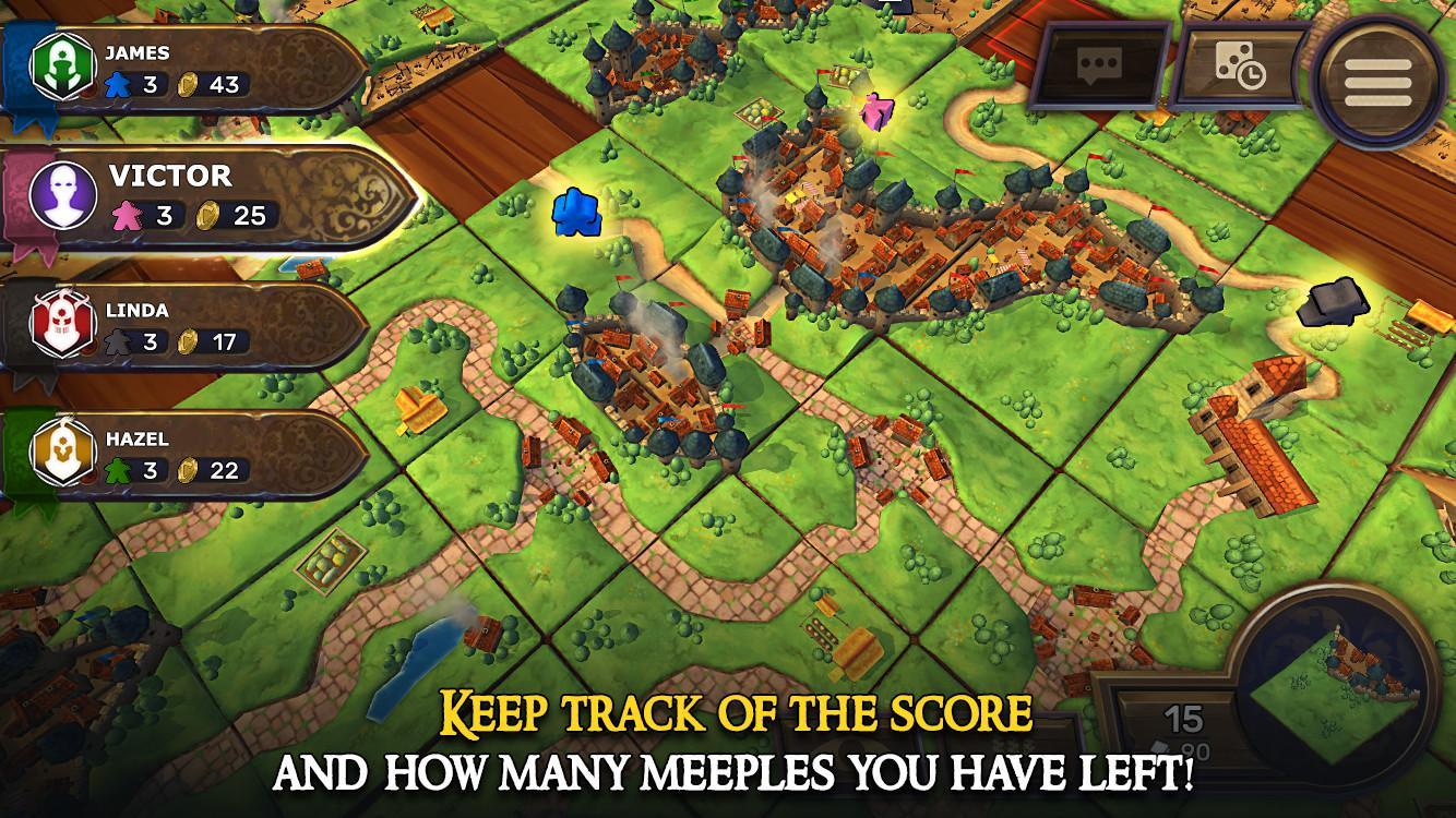 Carcassonne: Official Board Game -Tiles & Tactics screenshot #6