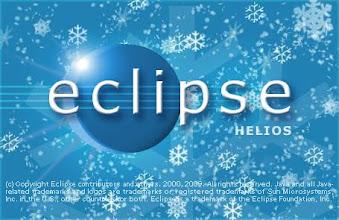Photo: Eclipse 3.5 M4 Splash screen - Eric Rizzo won the splash screen contest