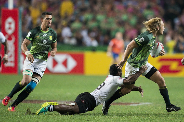 Blitzboks in action against Fiji.