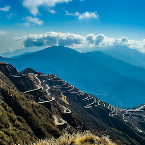 The Silk Route, Sikim by Kunal Karmakar - Landscapes Travel