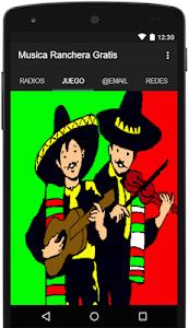 Musica Ranchera Gratis screenshot 1