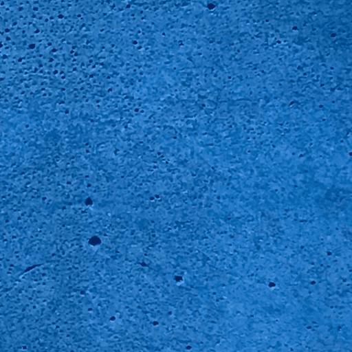 béton coloré bleu pétrole