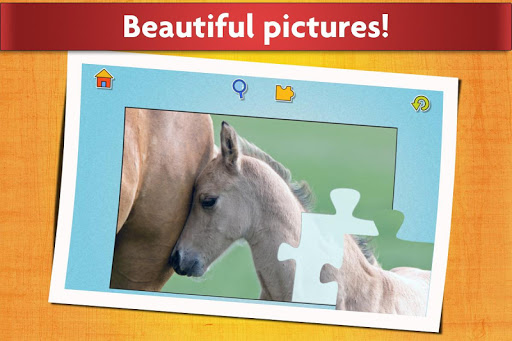 Horse Jigsaw Puzzles Game - For Kids & Adults ud83dudc34 apktram screenshots 5