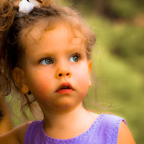 Unaware by Ron Plasencia - Babies & Children Child Portraits ( girls, ron plasencia, kids, portrait,  )