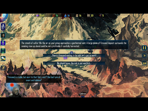 Screenshot for Nomads of the Fallen Star in United States Play Store