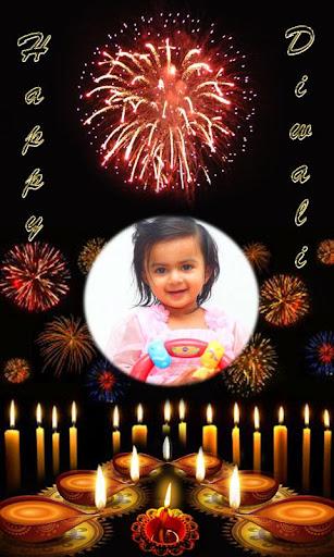 Diwali Photo Frame Effects