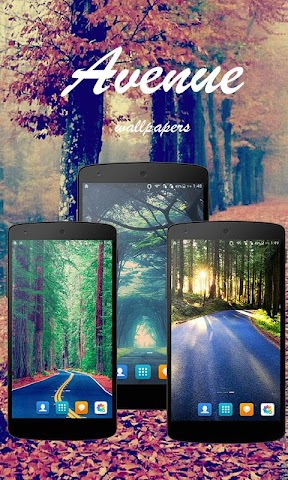 android Avenue Wallpapers Screenshot 0