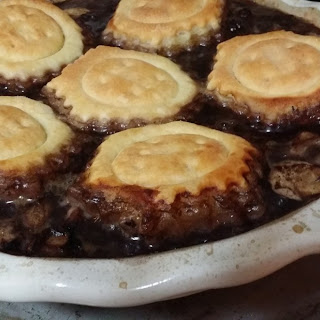 Beef, Mushroom and Red Wine Pie