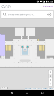 c3nav – 34c3 indoor navigation - náhled