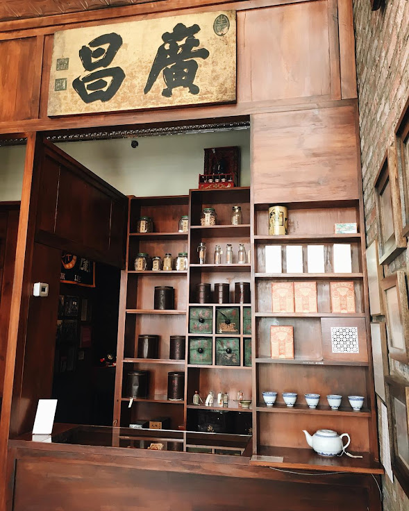 "The ""general store"" in MOCA, filled with specialty goods, medicines, teas, and other items. Photo: Museum of Chinese in America."
