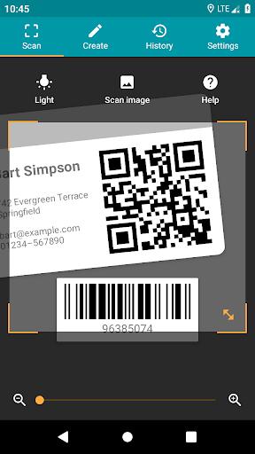 QR & Barcode Reader (Pro)  screenshots 1