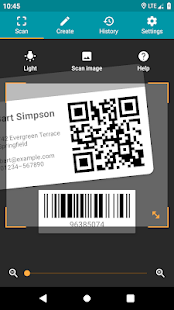 QR & Barcode Reader (Pro) Screenshot