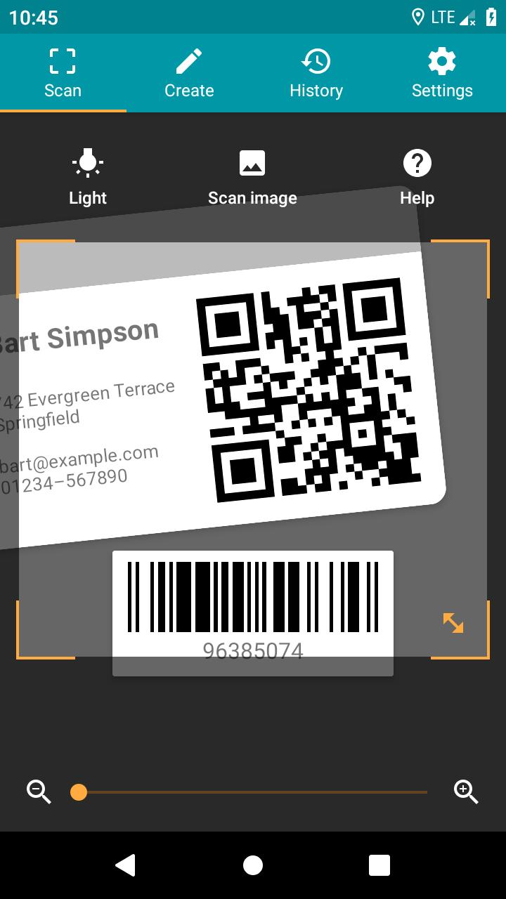 QR & Barcode Reader (Pro) Screenshot 0