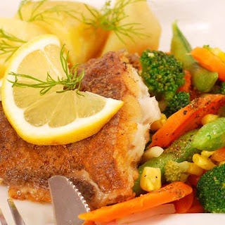 Curried Halibut and Vegetables