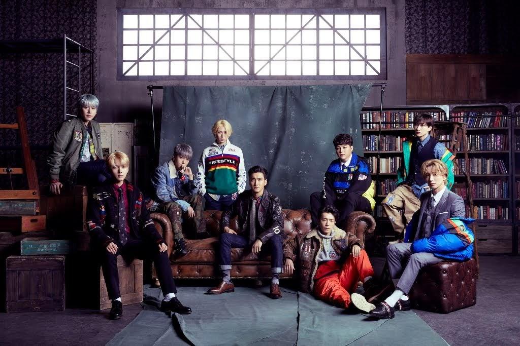 SUPER JUNIOR 時隔6年推出日語專輯《I THINK U》空降日本公信榜專輯日榜冠軍