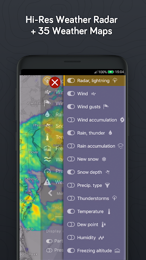 Windy.com - Weather Radar, Satellite and Forecast 25.0000 screenshots 5