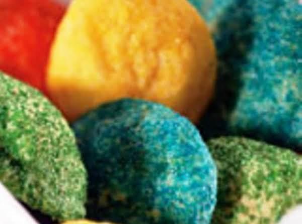 Eggnog Sprinkle Cookies