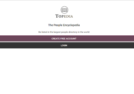 Topedia - The People Encyclopedia- screenshot thumbnail