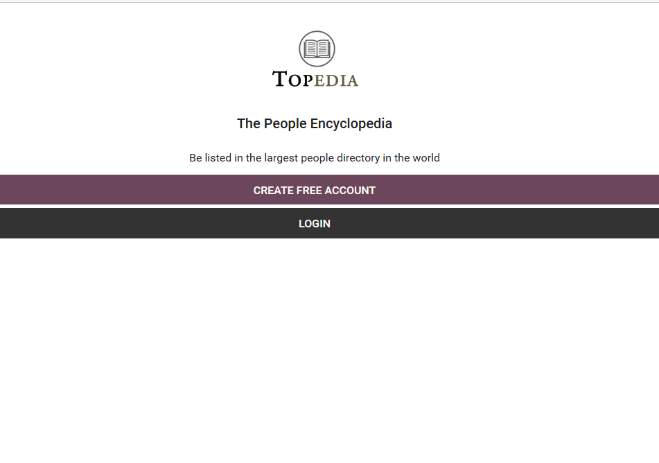 Topedia - The People Encyclopedia- screenshot