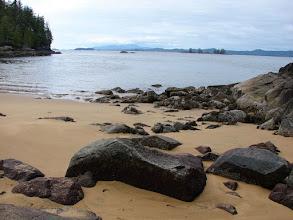 Photo: Red Sand beach in Smith Sound.