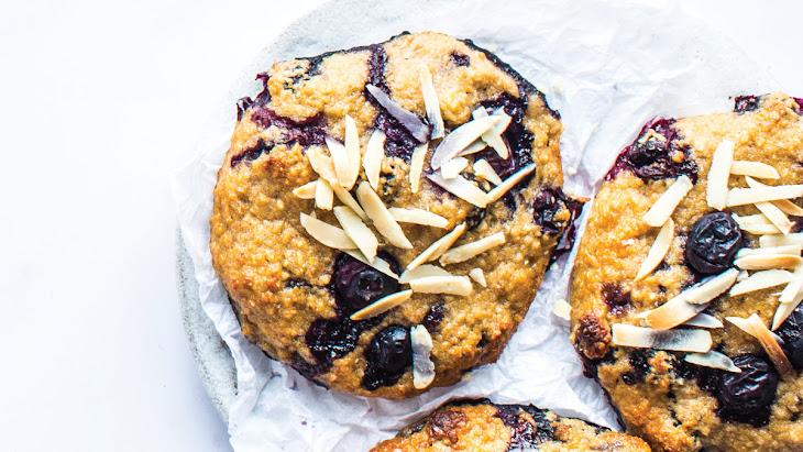 Blueberry Almond Breakfast Cookies Recipe