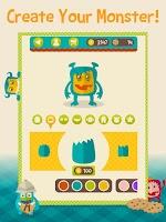 Screenshot of Word Monsters