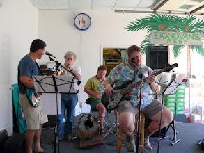 Photo: Reunion jam band