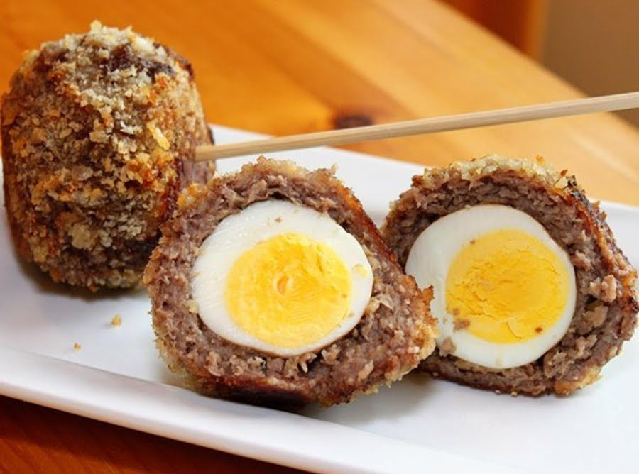 Baked Scotch Eggs Recipe Just A Pinch Recipes
