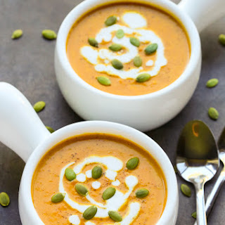 Curried Pumpkin Coconut Soup