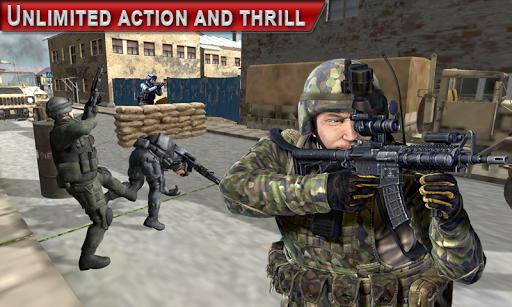 Modern Commando Action Games  screenshots 1