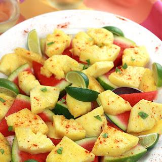 Spiced Pineapple & Watermelon Recipe