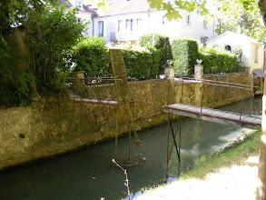 Photo: And here, even a mini-drawbridge!