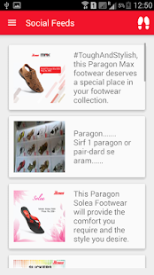 Paragon Footwear screenshot