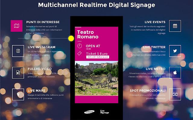Live Signage Chrome Player