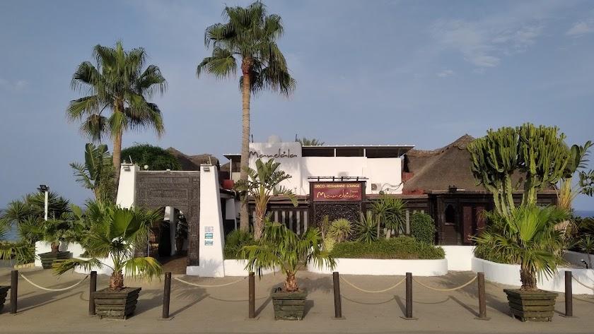 El Mandala Beach Mojácar es uno de los clubs más icónicos del municipio.