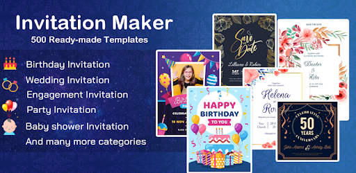 Invitation maker 2020 Free Birthday, Wedding card - Apps on ...
