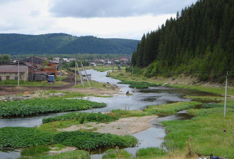 Река Саранушка, приток Уфы