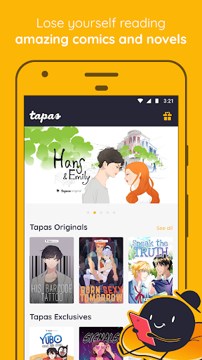 Tapas u2013 Comics, Novels, and Stories 4.4.1 screenshots 1