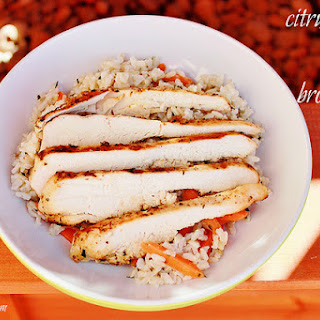 Citrus Chicken and Brown Rice