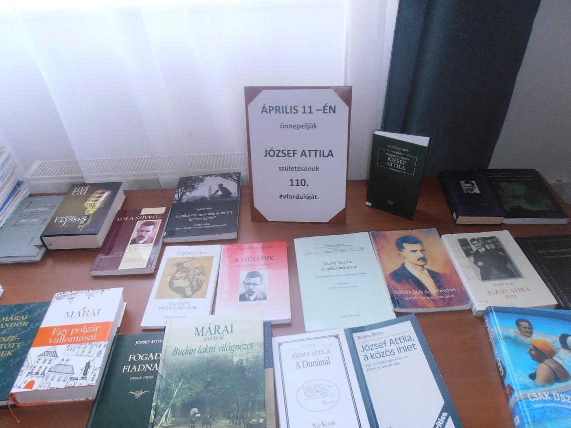 Könyvajánló József Attila műveiből