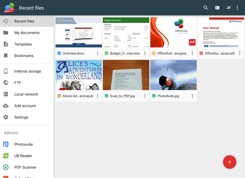 OfficeSuite Pro + PDF- screenshot