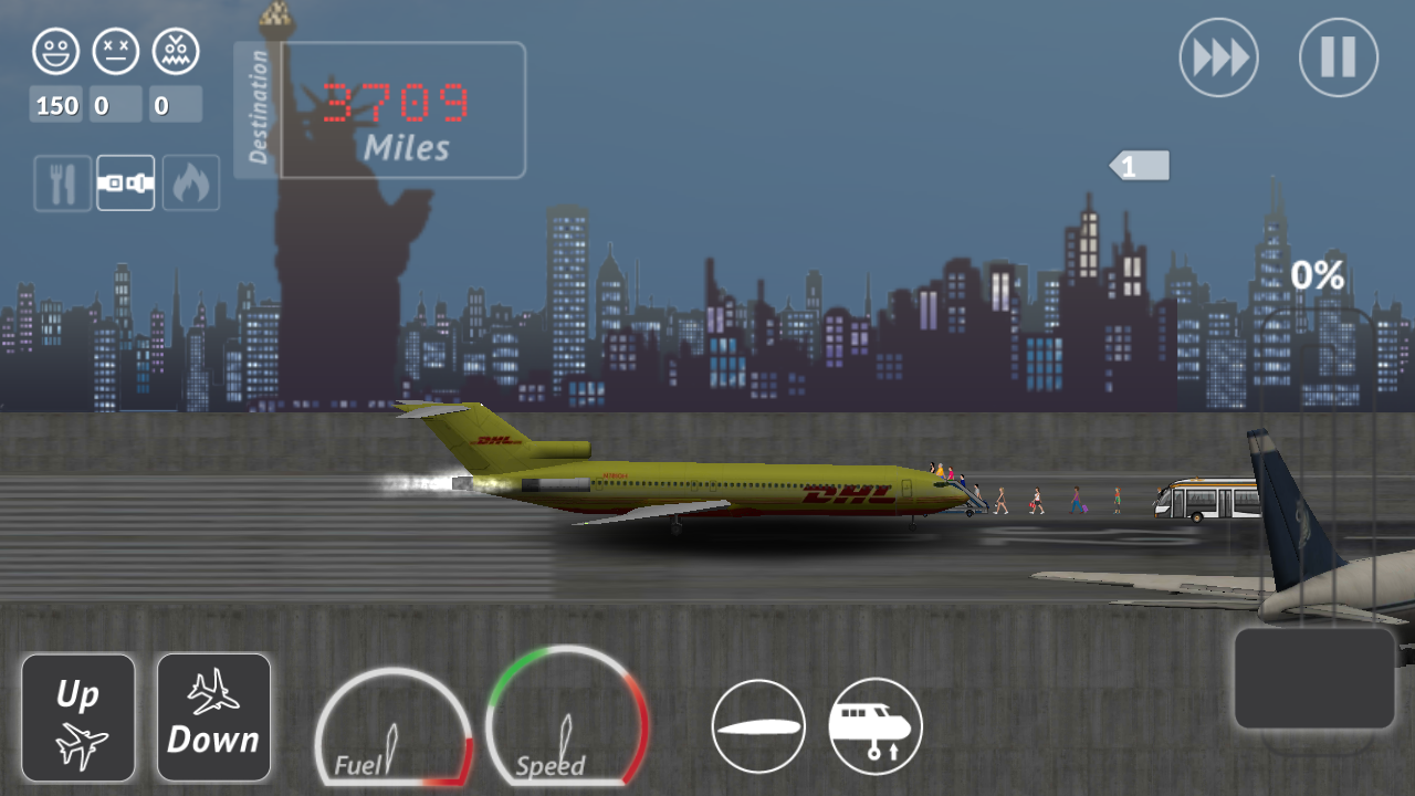 Transporter Flight Simulator ✈- screenshot