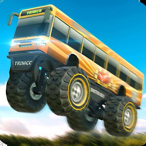 Monster Trucks X: Mega Bus Race