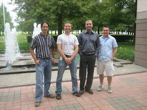 Photo: Tom Waston, Chris Aniszczyk, Wassim Melhem, Brian Bauman (2007)