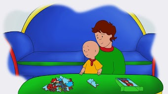 Daddy's Puzzles/Play With Me/Caillou's Bad Luck