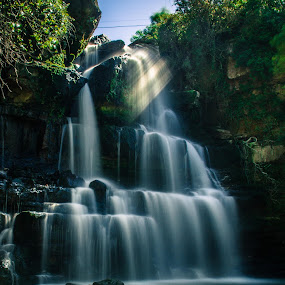 Bajouca by Ricardo Marques - Landscapes Waterscapes ( water, shadow, waterfall, sun )