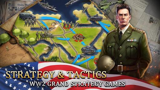 World War 2: WW2 Grand Strategy Games Simulator 1.0.5 screenshots 4
